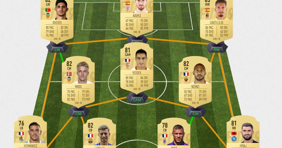 Fifa 19 Dieses Fut Team Bekommt Ihr Zum Discounterpreis