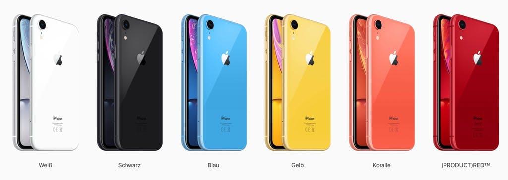 Welches Ist Die Schonste Farbe Furs Neue Apple Handy