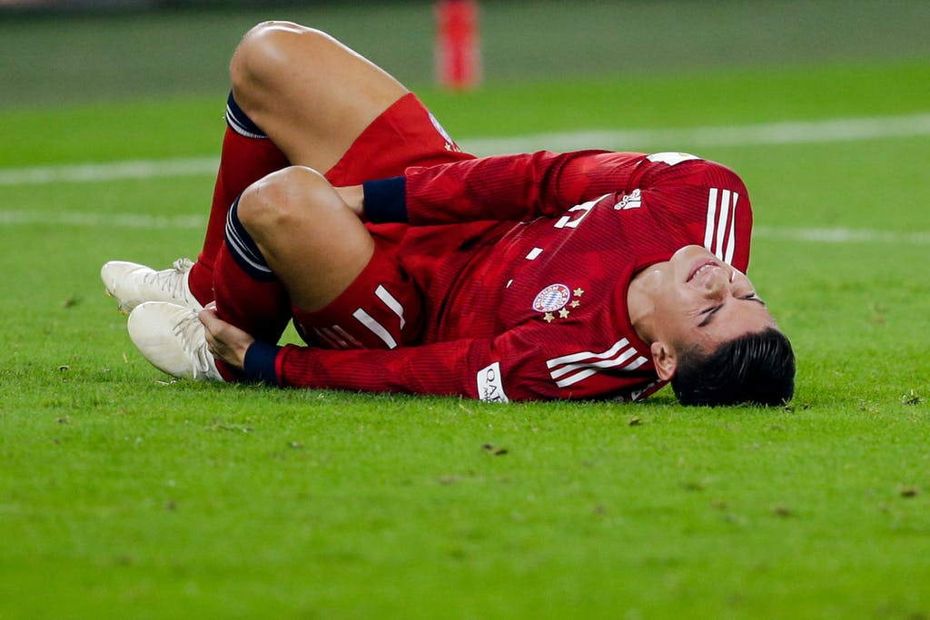 James Rodriguez Verletzung