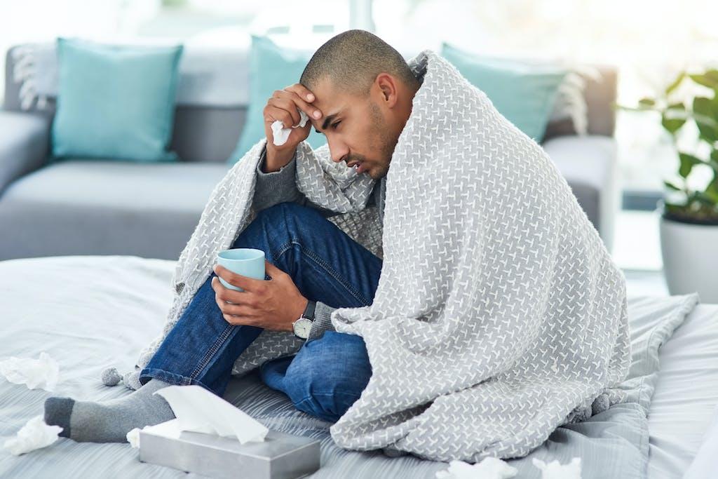 Erkältung Männer