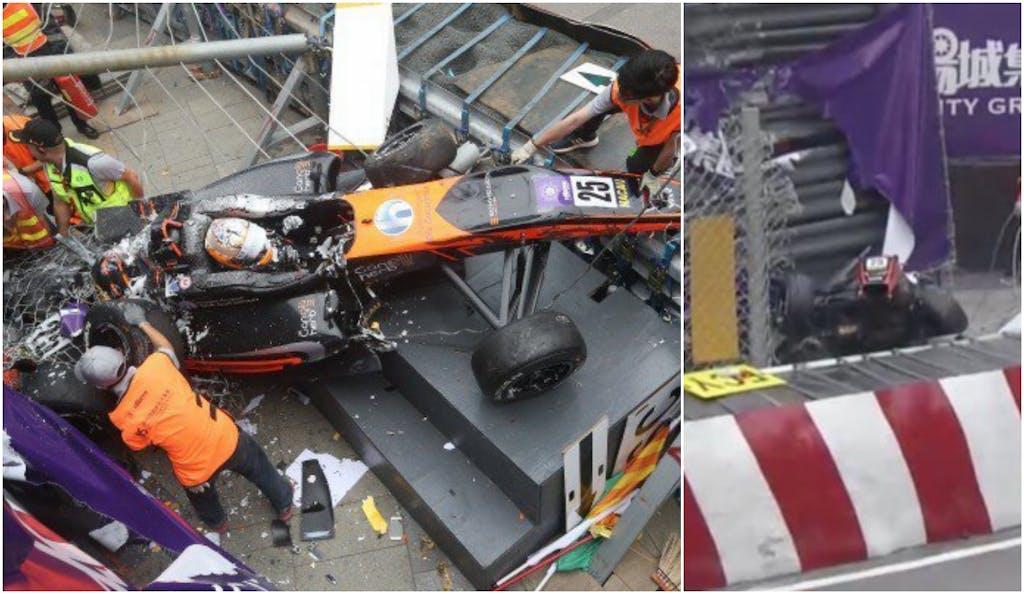 Formel 3 Unfall Macau