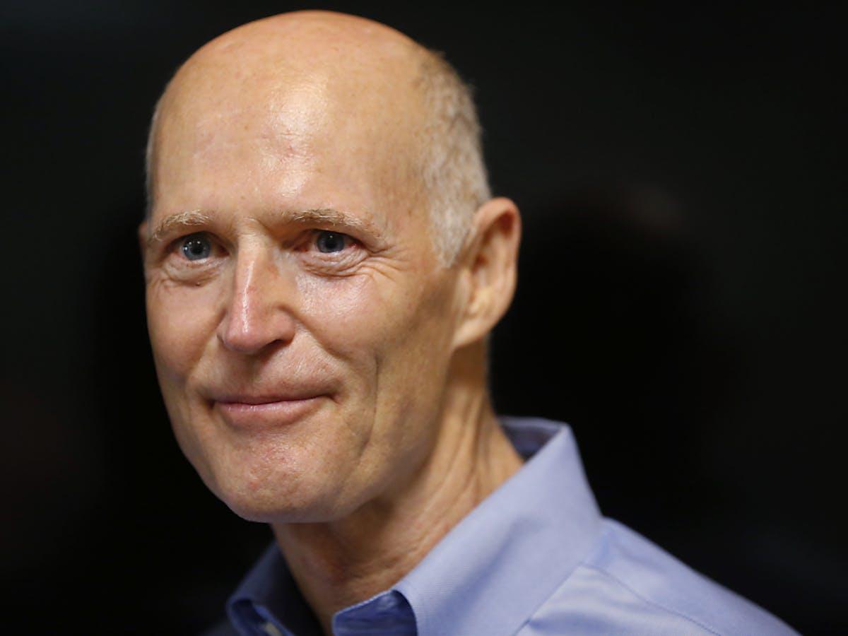 Florida-Senatssitz für Republikaner Scott