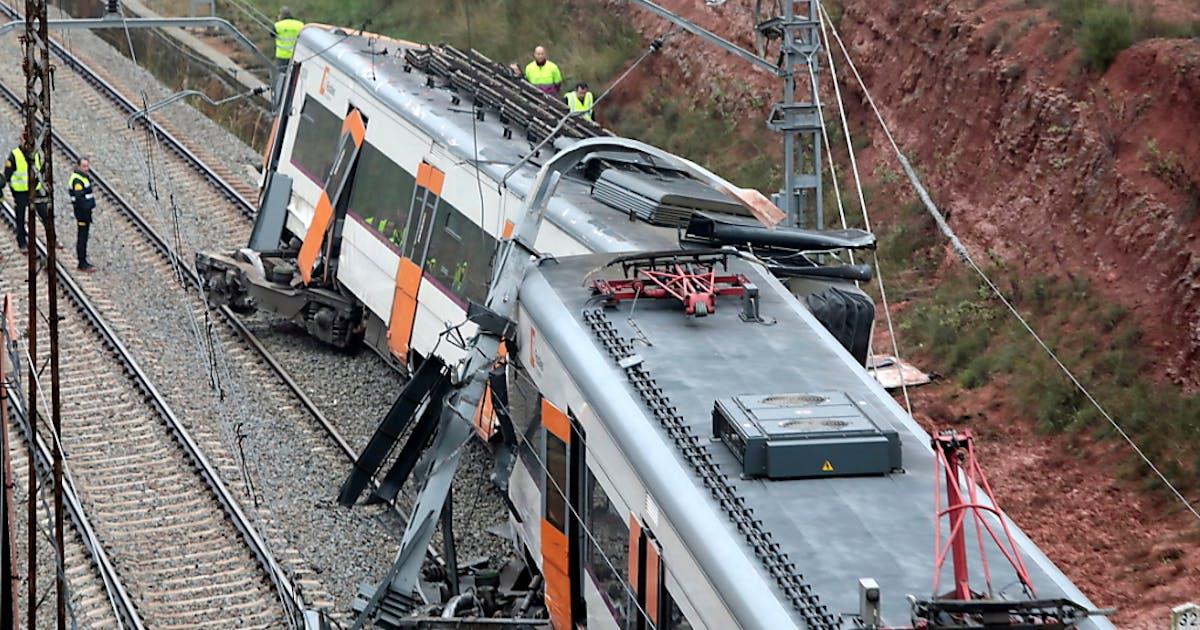 Zugunglück In Spanien