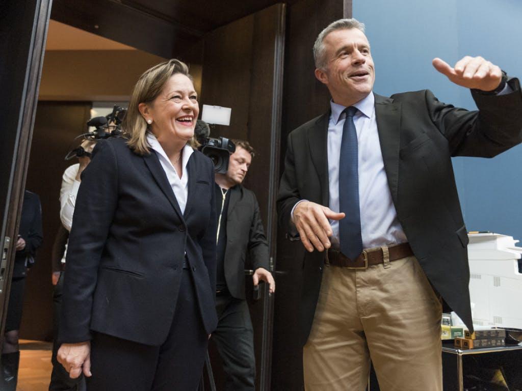 SP, FDP Und CVP Legen Sich Noch Nicht Fest