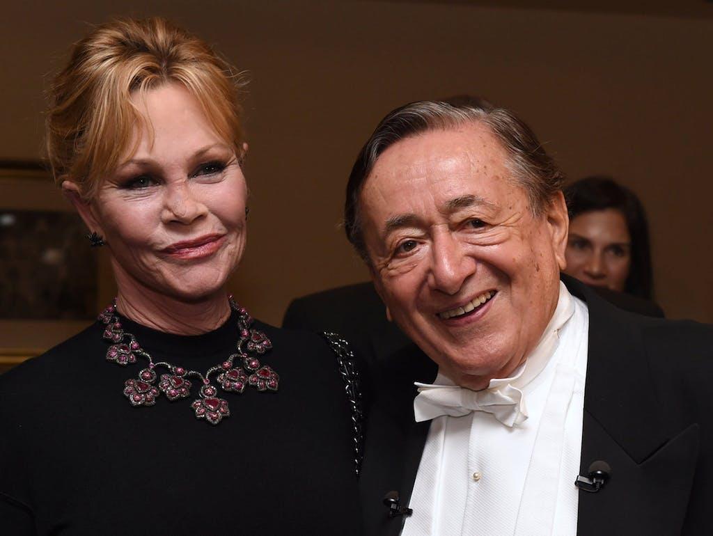 7384d4d0beee L imprenditore Richard Lugner è venuto al ballo dell Opera di Vienna  accompagnato dall attrice Melanie Griffith. «Un invitata da sogno»