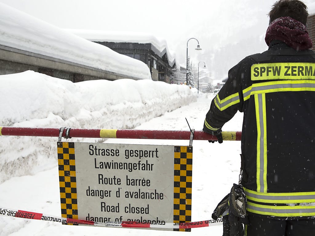 Zermatt erneut von der Außenwelt abgeschnitten