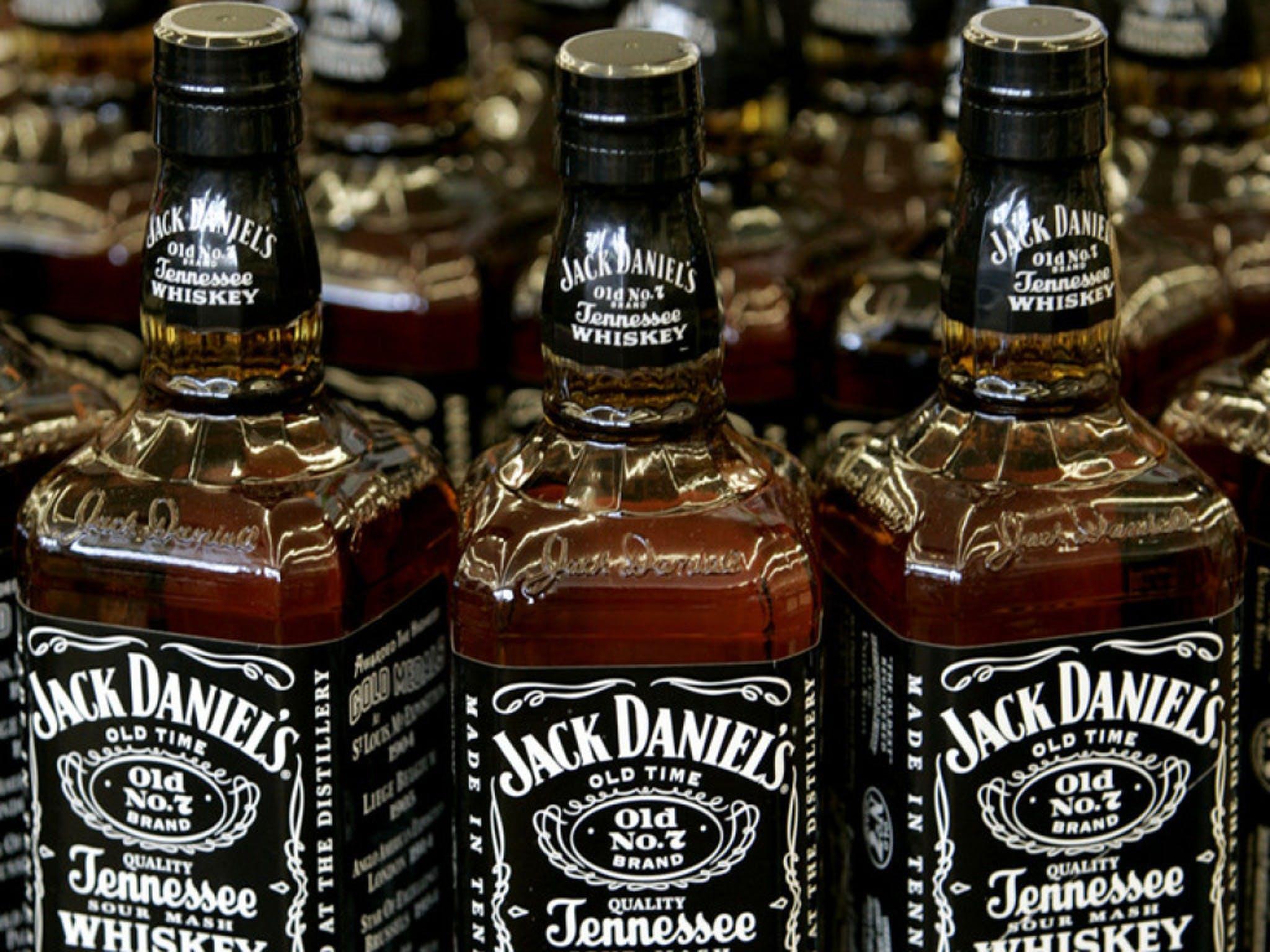 Objekt möglicher Gegenzölle Bourbon Whiskey von Jack Daniels.         Bild     Keystone  AP  CHARLIE RIEDEL
