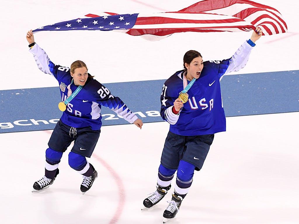Final-Krimi: US-Frauen holen Olympia-Gold gegen Kanada