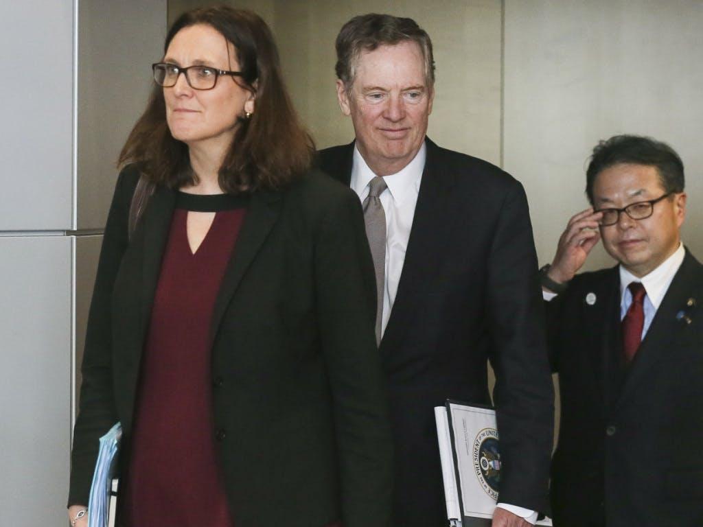 Strafzölle: EU-Kommissarin trifft US-Handelsbeauftragten