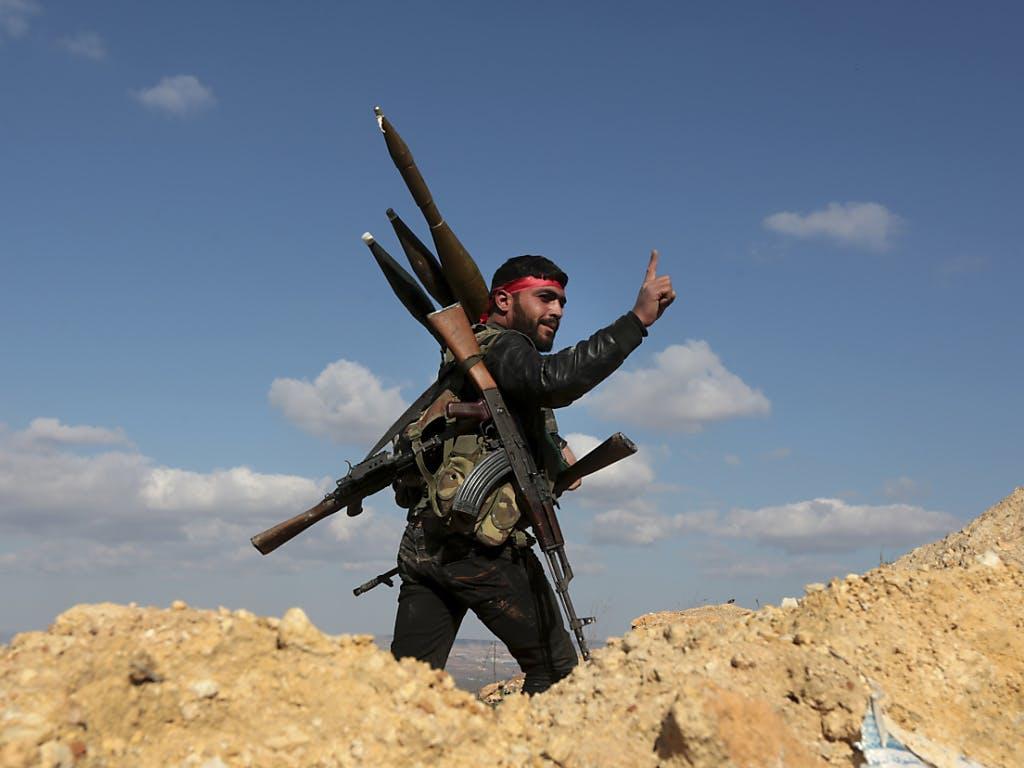 Friedensforscher: Weltweiter Waffenhandel nimmt zu