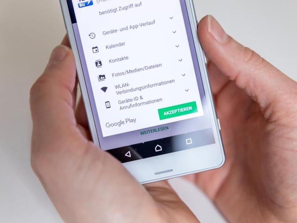vorsicht bei app-zugriffen: diese berechtigungen machen sinn