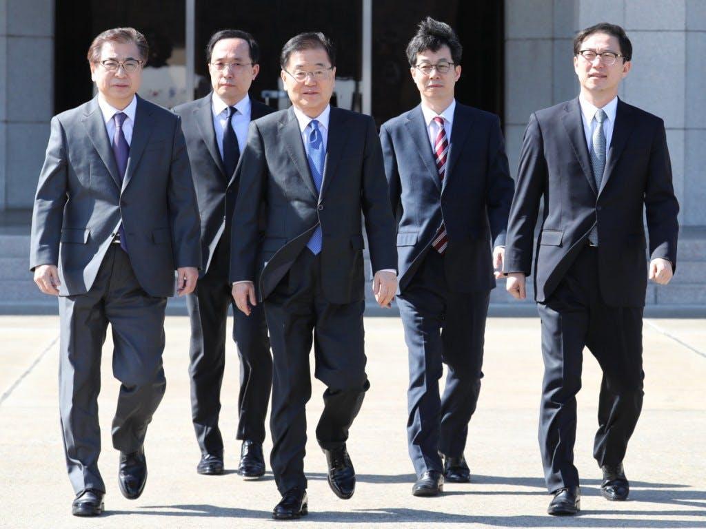 Kim Jong Un empfängt Südkorea-Delegation