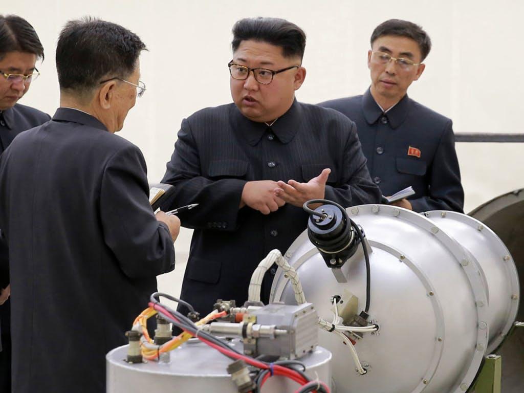 Medien: Nordkoreas Machthaber Kim bietet Trump Treffen an