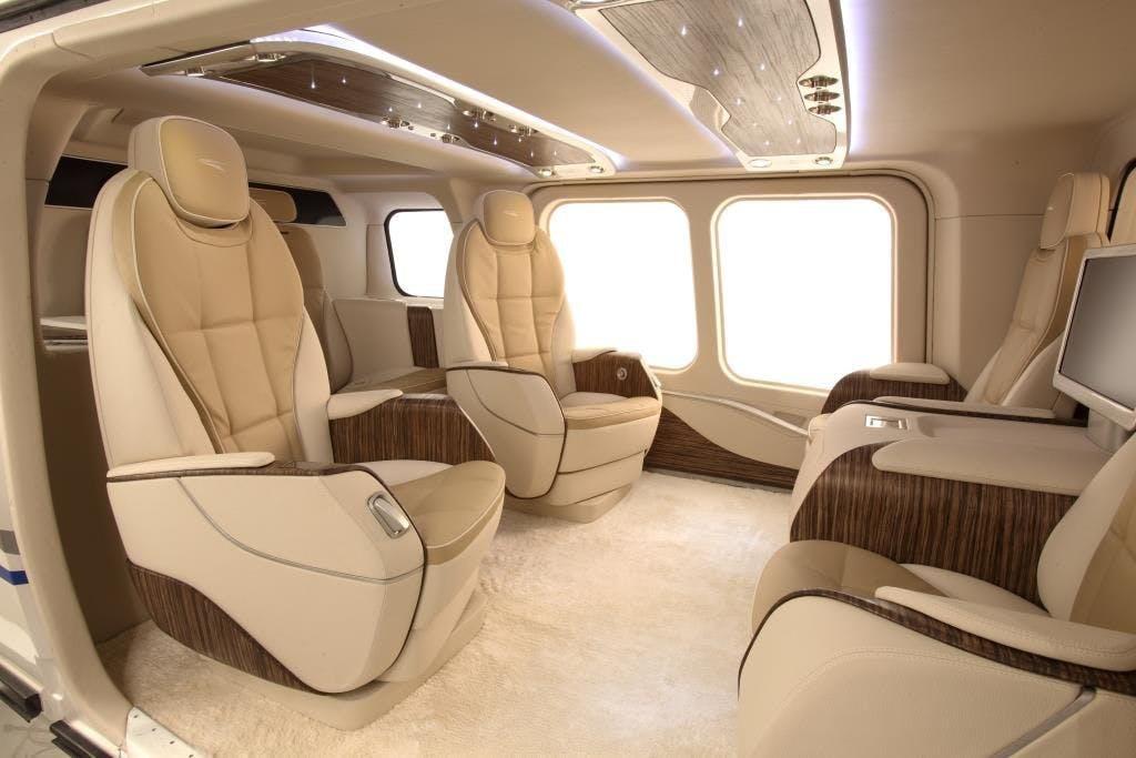 Voici ce que les super-riches peuvent attendre d\'un hélicoptère