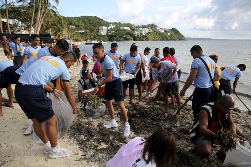 Riesiges Müllproblem auf Boracay: Philippinen machen beliebte Ferieninsel für sechs Monate dicht