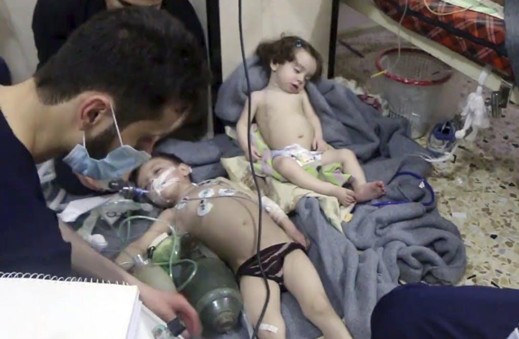 Der US-Militärschlag nach Giftgasangriff in Syrien 2017