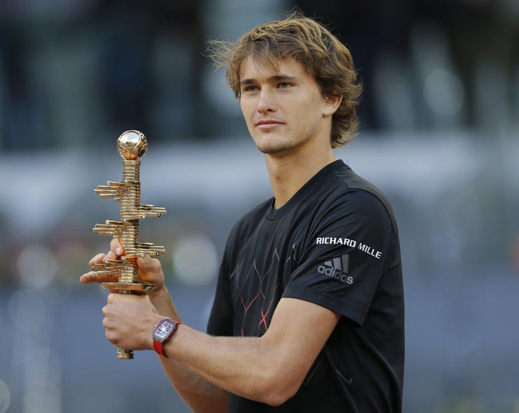 Zverev gewinnt in Madrid dritten Masterstitel seiner Karriere