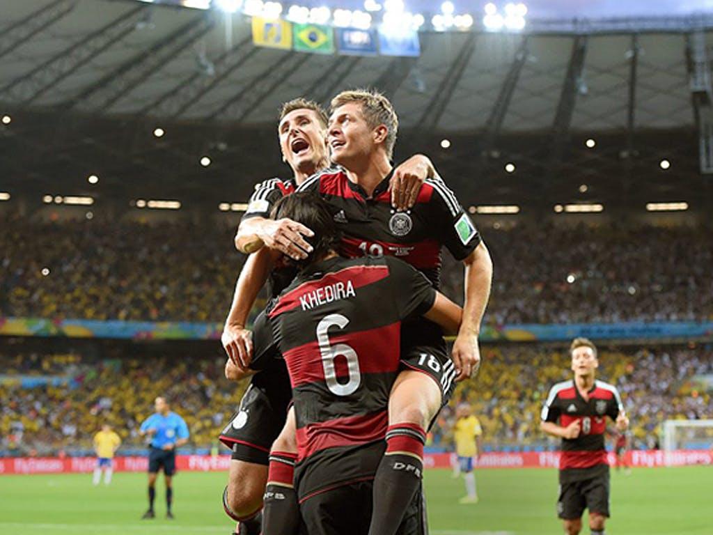 Deutschland Brasilien Wm