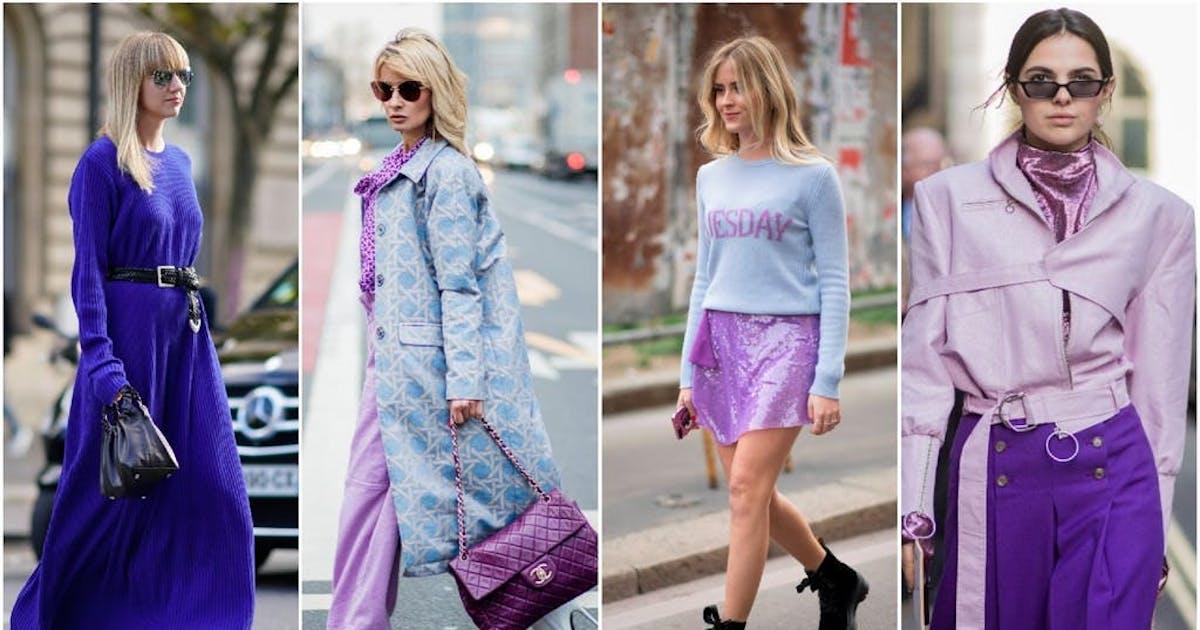 Lila Macht Laune So Tragen Wir Die Trendfarbe Violett