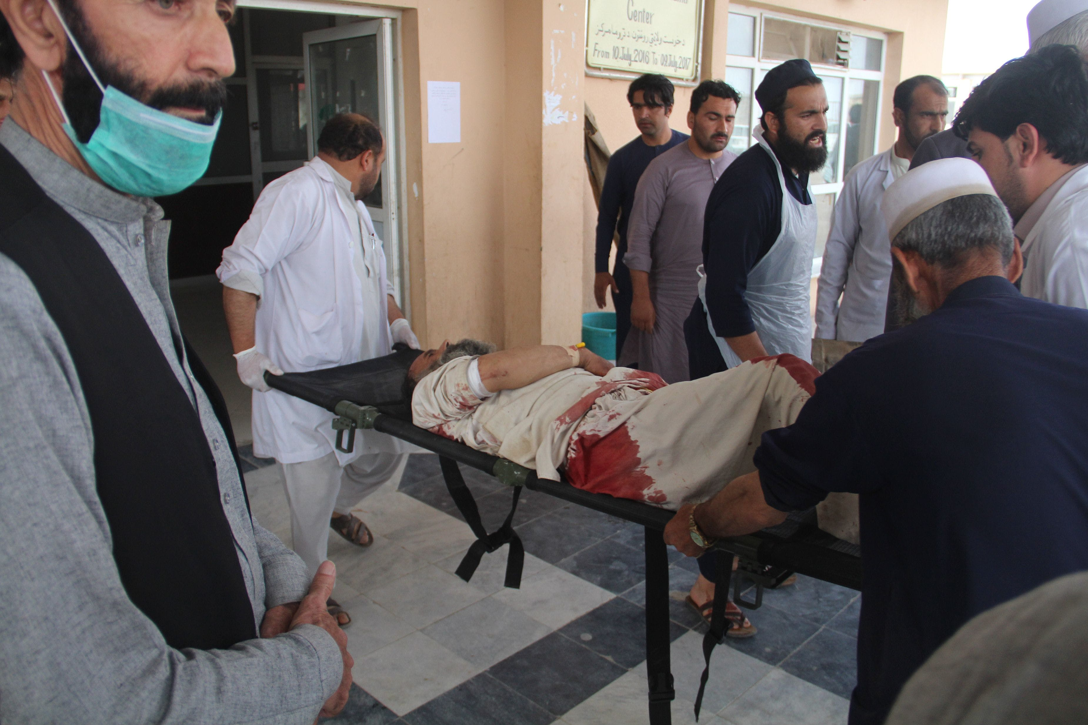Viele Tote bei Selbstmordanschlag in Moschee