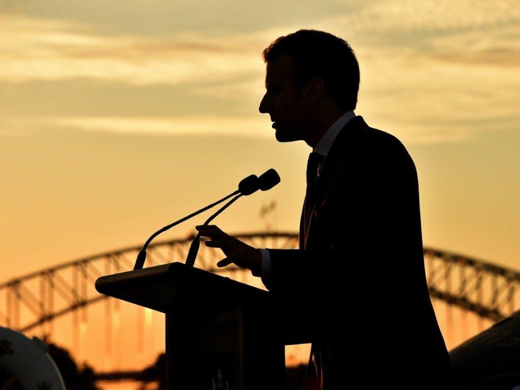 Macron trifft in Aachen zur Karlspreis-Verleihung ein