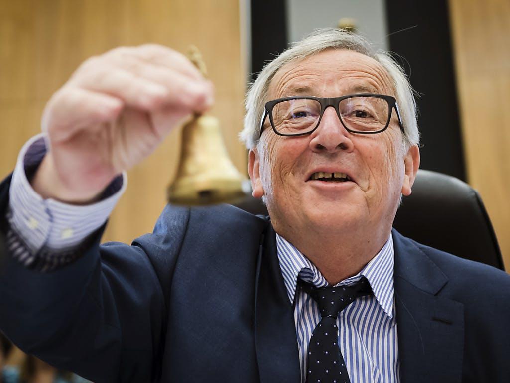 Risultati immagini per Juncker sull'Italia