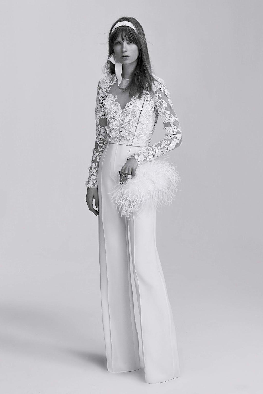 Mut zum Stilbruch: Hochzeitskleider werden immer gewagter