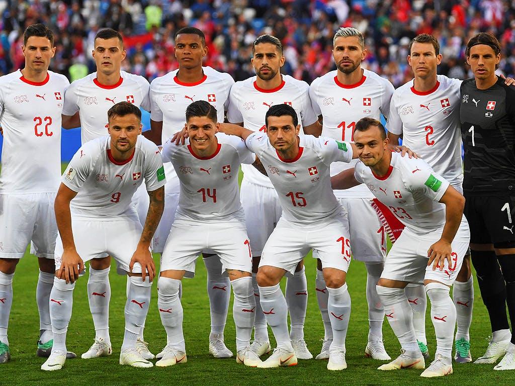Schweizer Fussballnationalmannschaft Aufstellung
