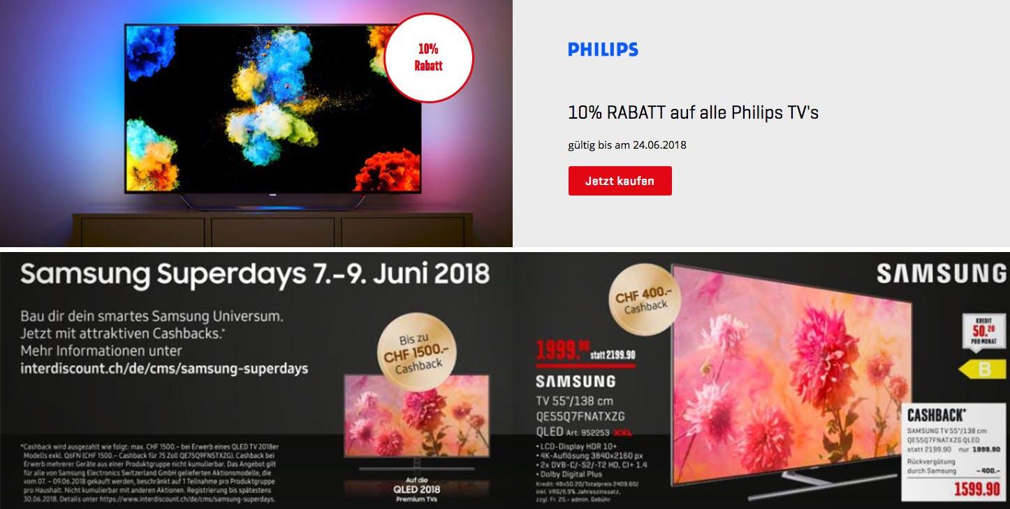 Philips Fernseher Interdiscount : Fernseher test top fernseher bei preisvergleich