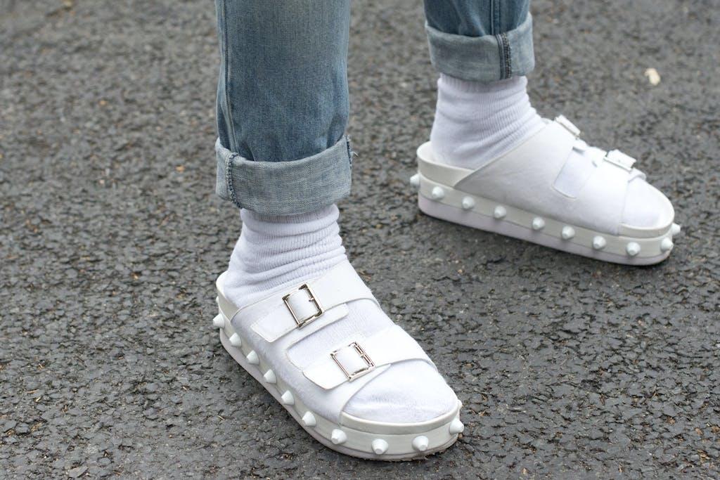 Bitte Nicht Die Weissen Socken Feiern Ihr Comeback
