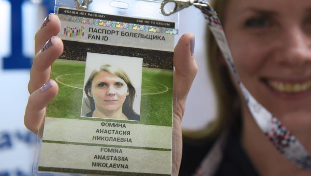 Fan Id Russland