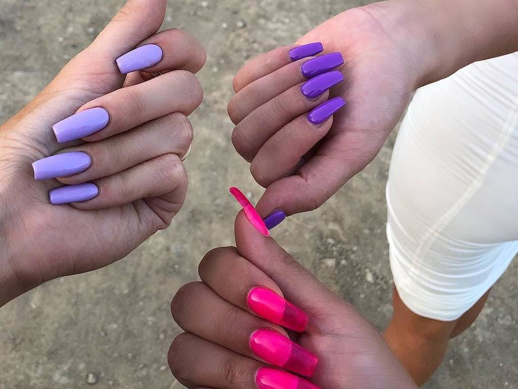 Tendance  les ongles gelée « jelly nails »