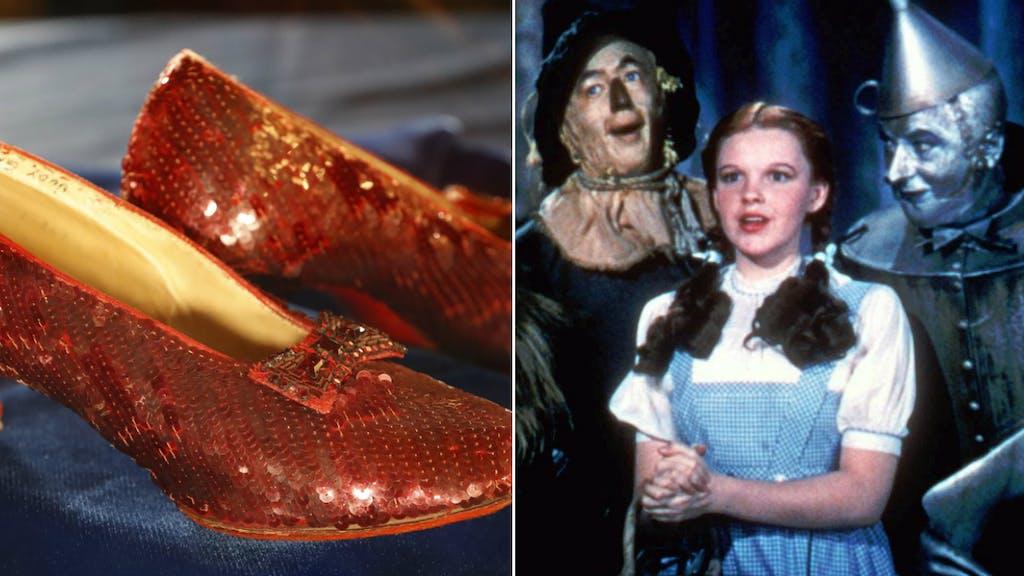 FBI stellt legendäre Film-Schuhe aus «Zauberer von Oz» sicher