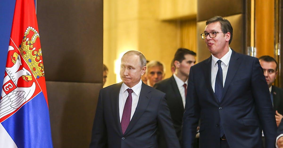 Putin besucht Belgrad