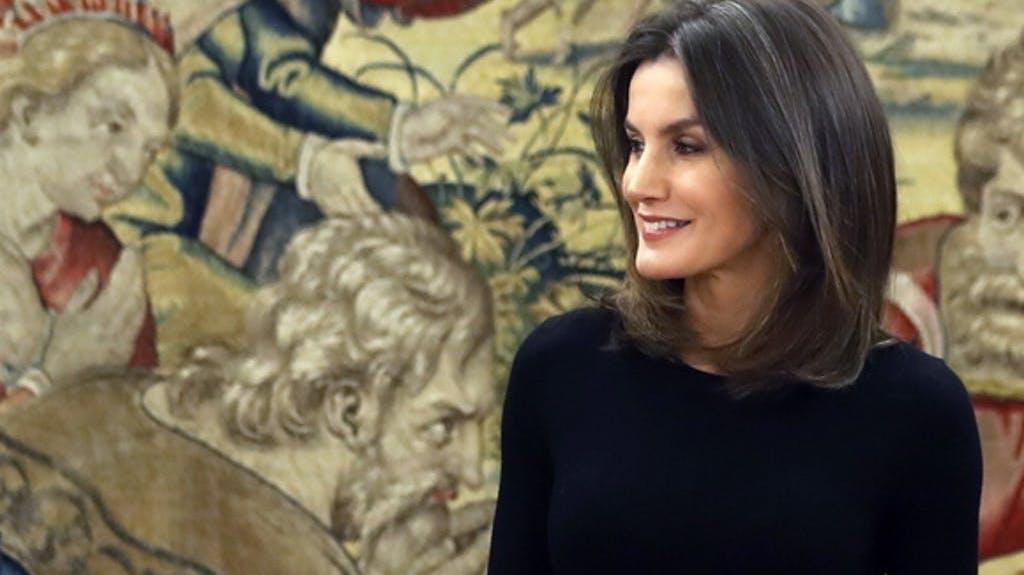 La regina Letizia di Spagna partecipa all apos inaugurazione della 39a  edizione del Salone internazionale nbsp  del turismo FITUR a Madrid 5db8ca2c02c1