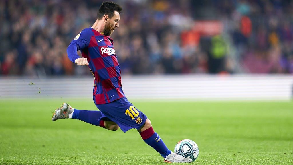 Messi Freistoß