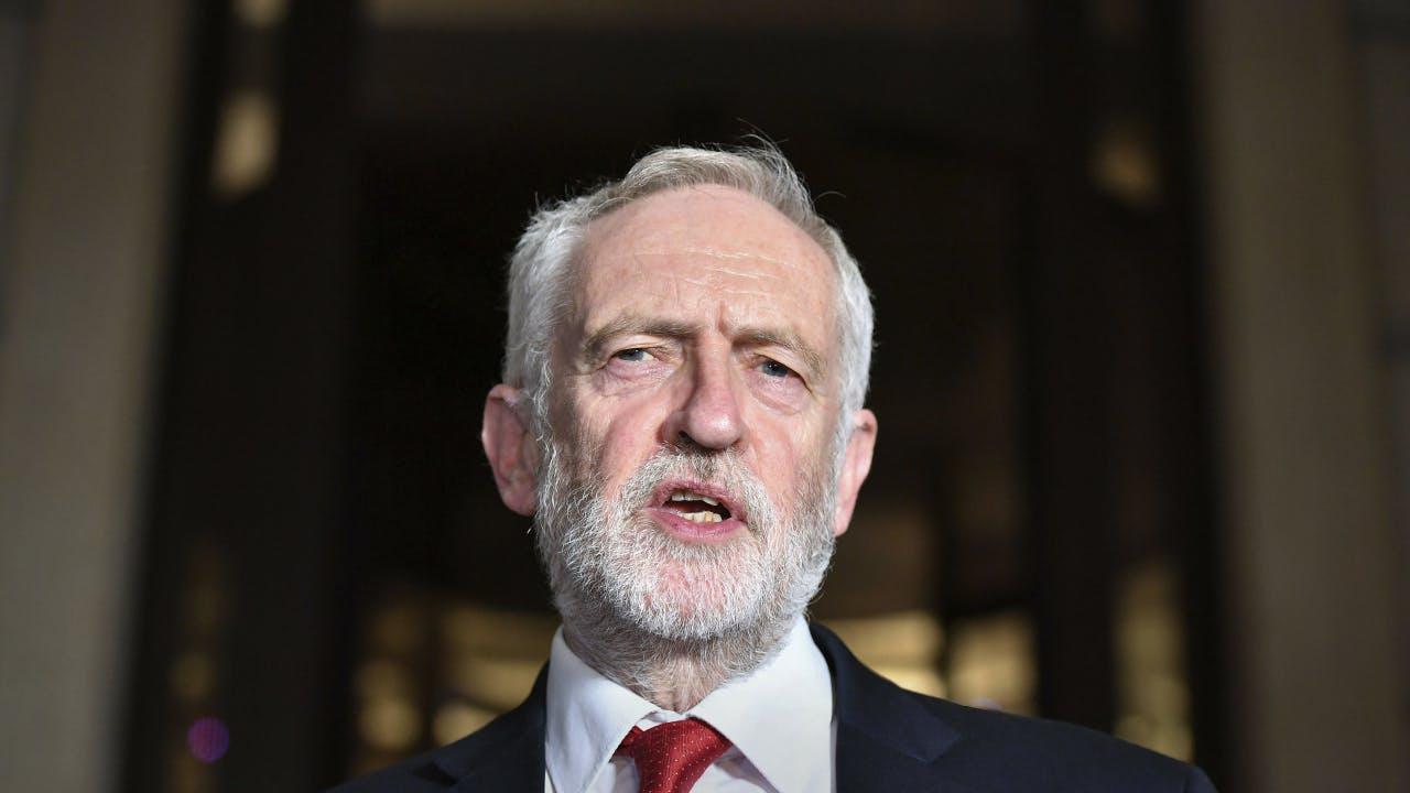 NUOVA maschera di Jeremy Corbyn
