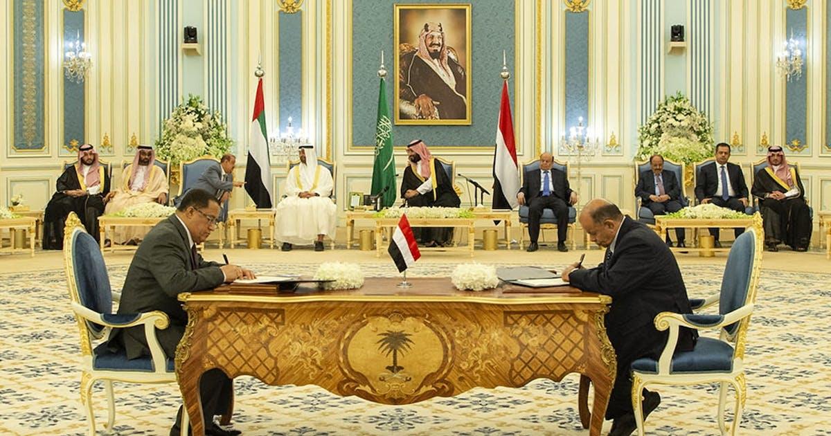 Jemenitische Regierung und Separatisten einigen sich