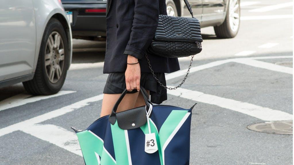 Instant mode : le sac Pliage de Longchamp devient écoresponsable