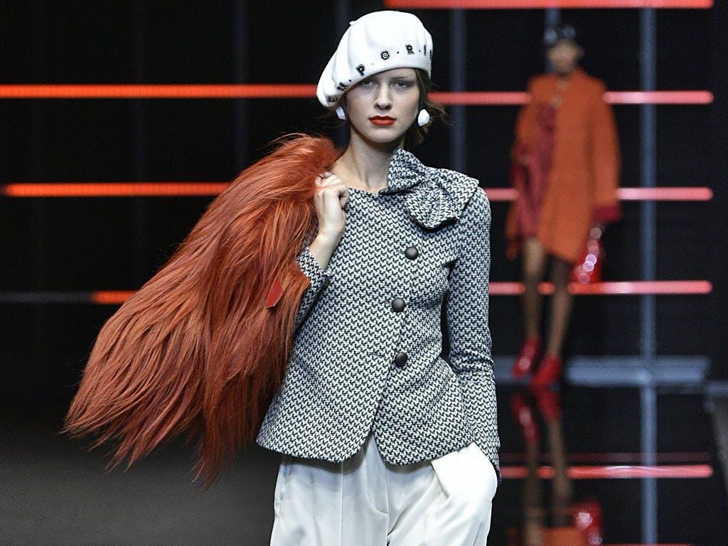 Armani Automnehiver Milan 19 Week Défilé Fashion 20Giorgio KJuTlF1c3
