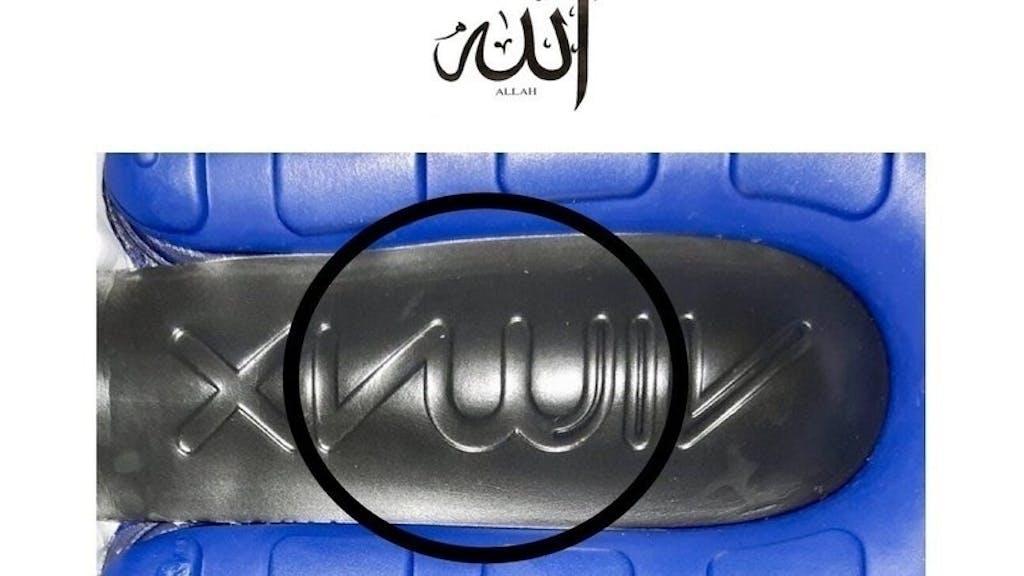Nike Schuh sorgt für Proteste von Muslimen