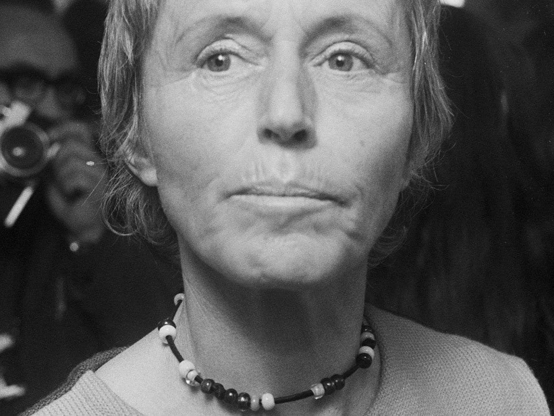 Das Bild von ironischem Porno Ebenholz lesbisches Gesicht sitzt