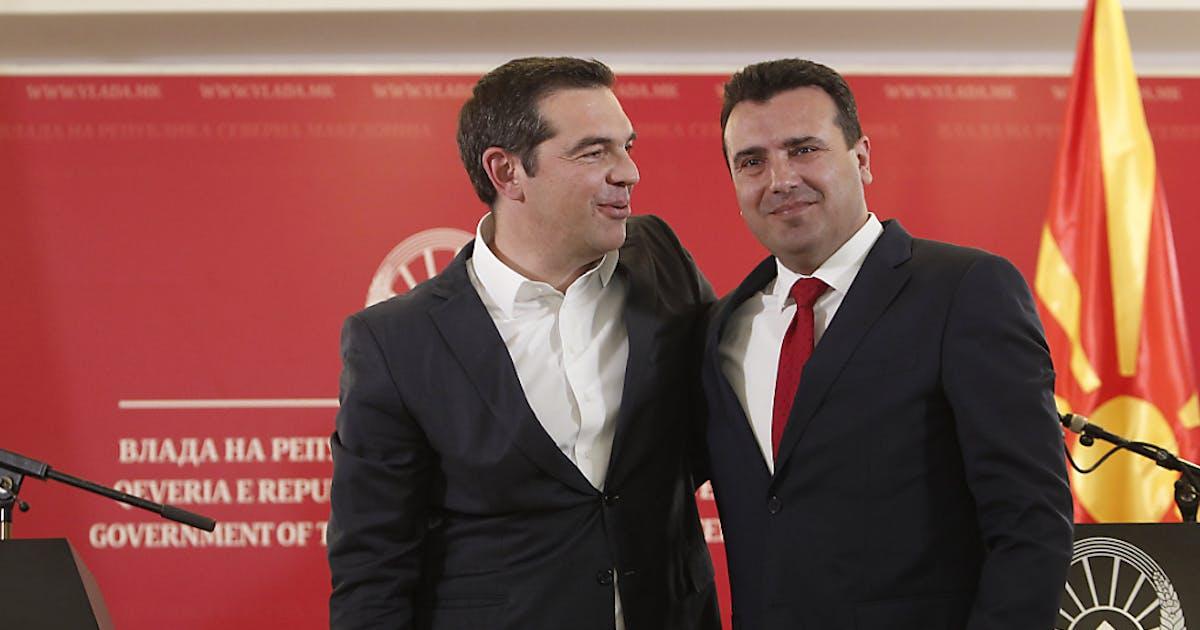 Tsipras erstmals in Nordmazedonien