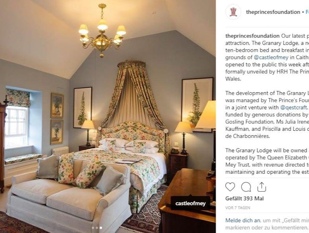 Prezzi Camere Da Letto Gotha il principe carlo apre un bed & breakfast di lusso in scozia