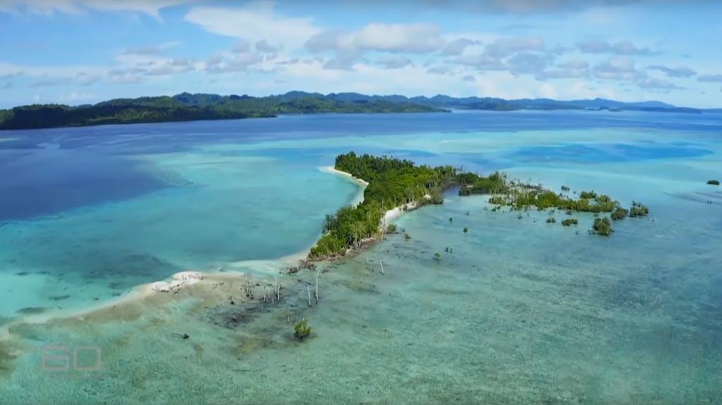 Eine Salomon Inseln