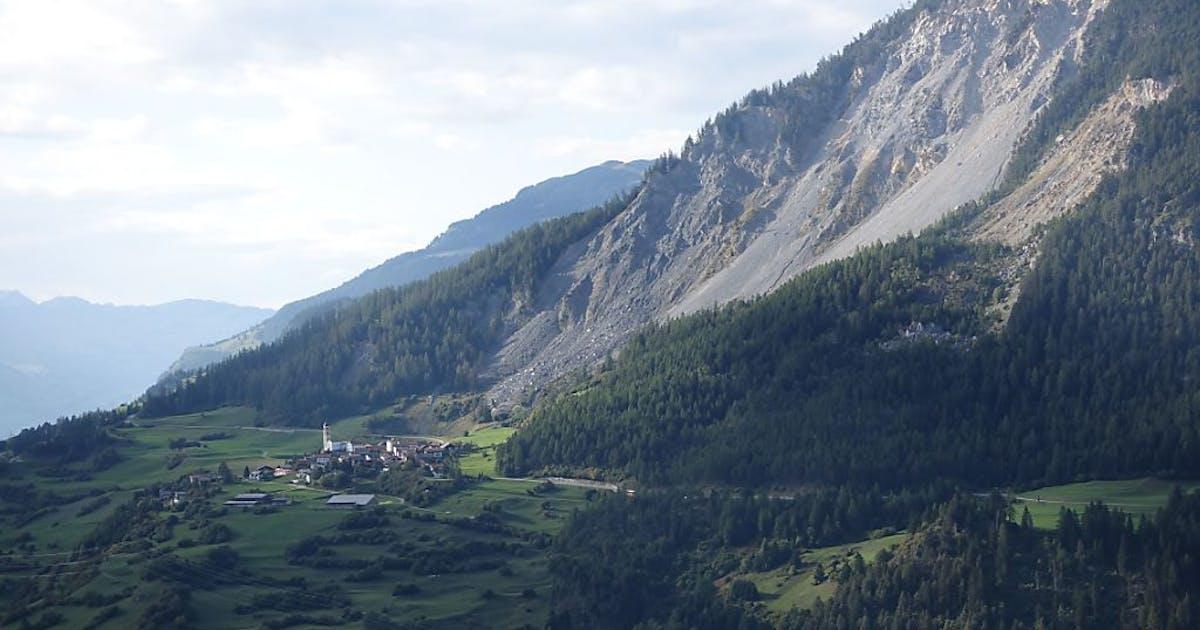 Brienz (GR) glisse vers la vallée