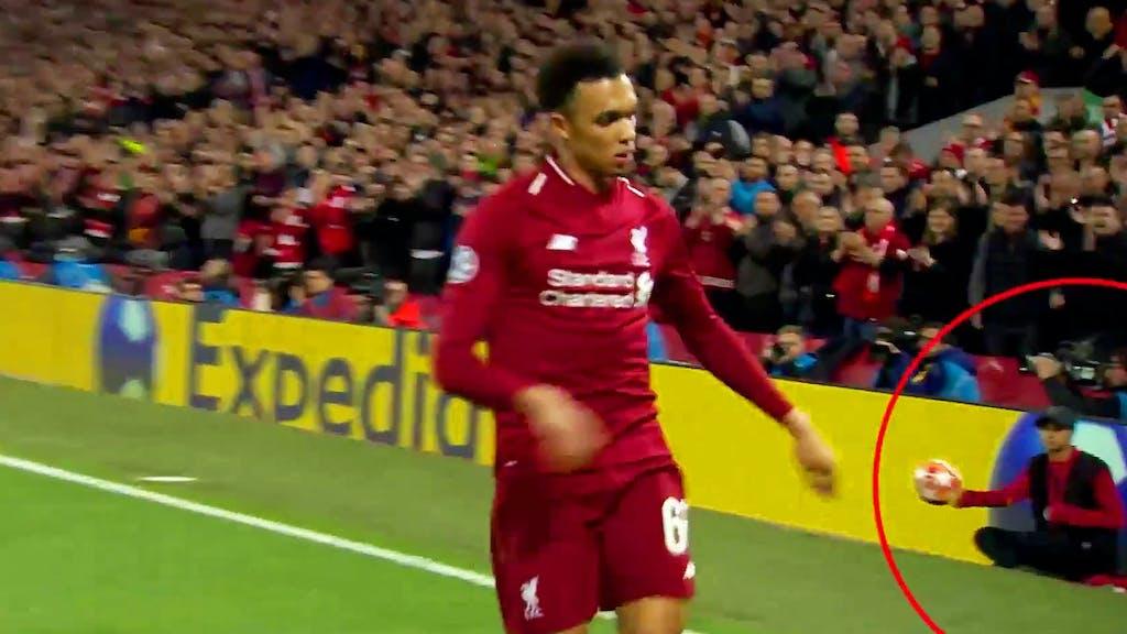 Eckball Liverpool