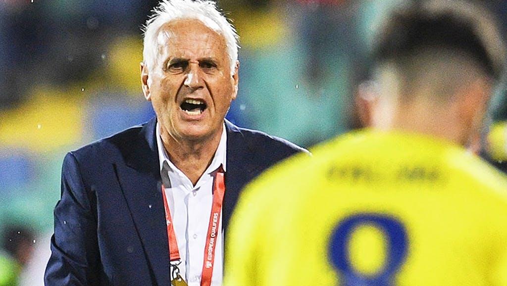 Bildergebnis für fussball trainer kosovo