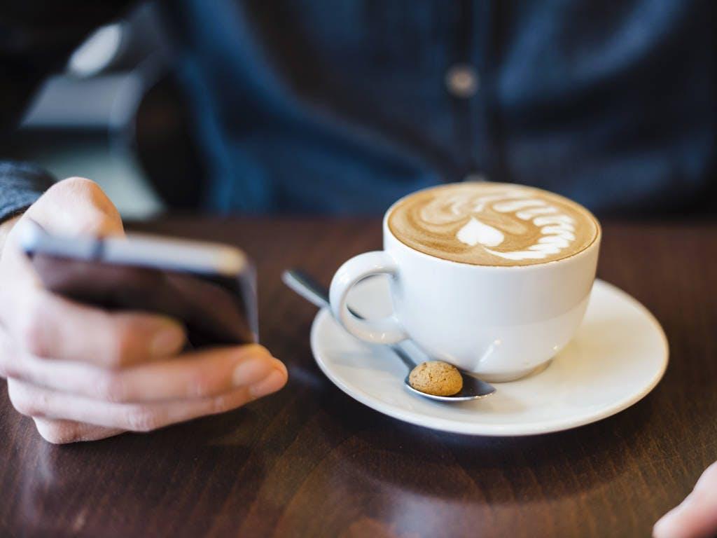 étude de perte de poids et de café