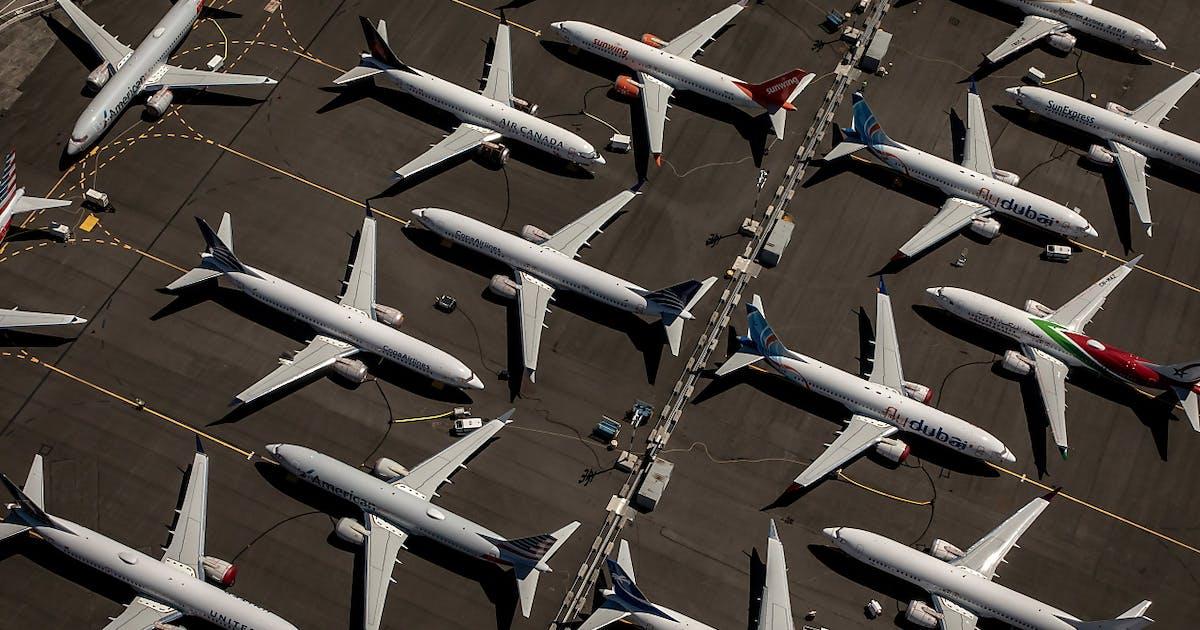 Boeing ricavi 35 con crisi 737 max for Area clienti 3 servizi in abbonamento